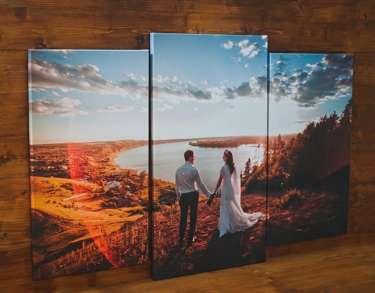 Распечатка фотографий на холсте екатеринбург